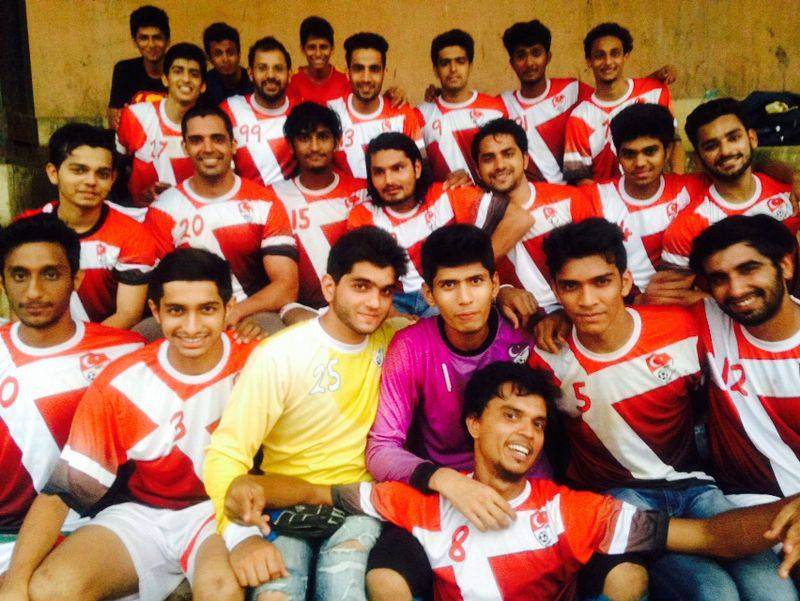 Millat FC all smiles after their victory