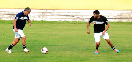 Andre Santos training with FC Goa
