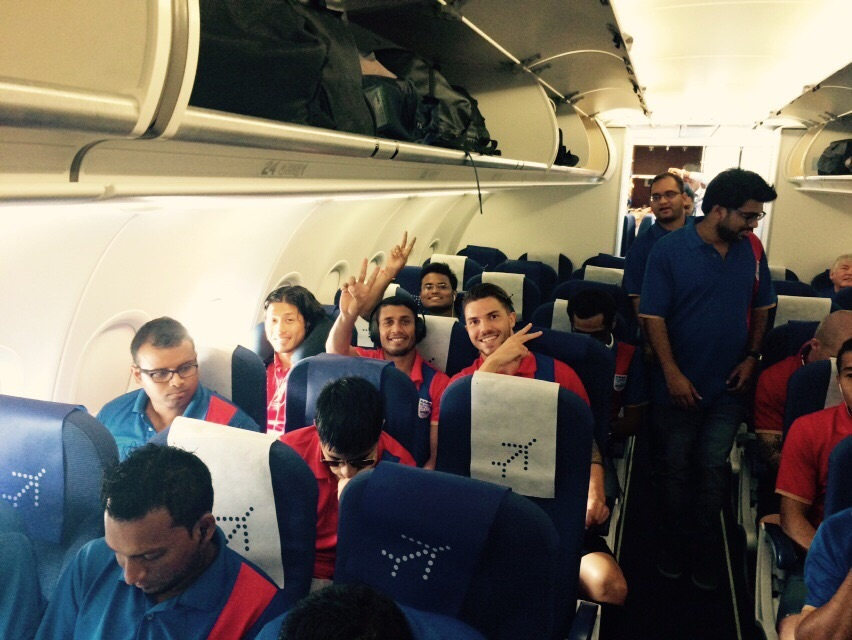 Mumbai City FC Team is ready for the Challenge..