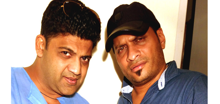 Music composer Piyush Soni and artist Varun Carvalho