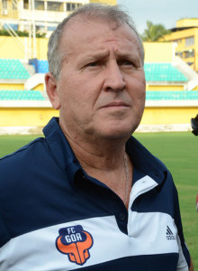 FC Goa coach and manager Zico