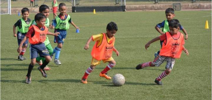 Kids showcase their talent at the 6th grassroots festival organised by Mumbai City FC