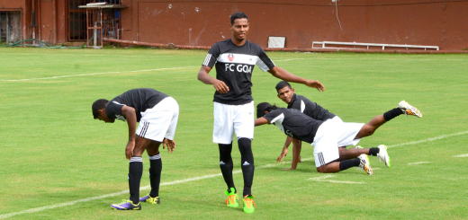 Rowilson Rodrigues at a training session