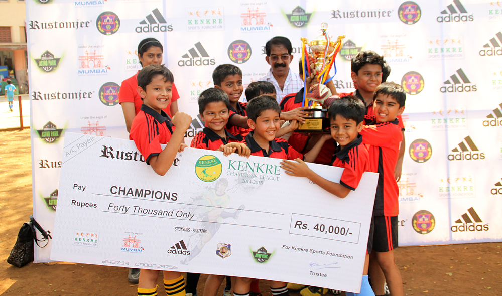 Dynamites, Winner of the 2nd edition of the Kenkre Champions League Under 10
