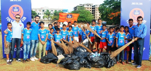 Beach cleanup drive initiated by FC Goa to coincide with World Environment Day