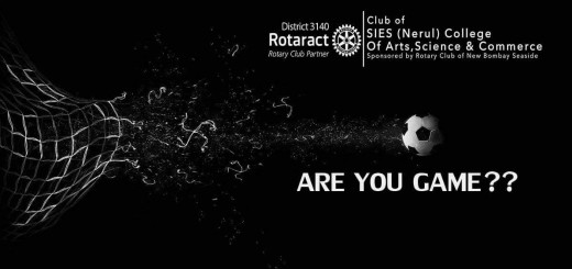 """Are You Game"" An Initiative by Rotaract Club of SIES college"