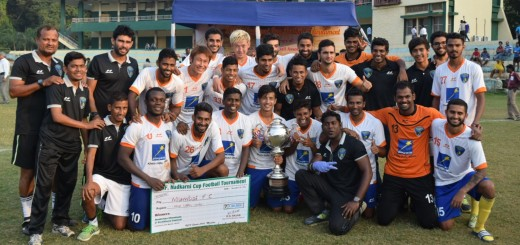 Mumbai FC with 109th Nadkarni Cup 2015