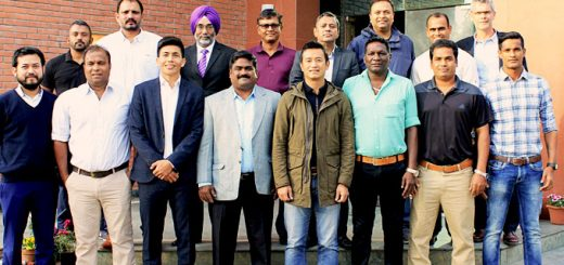 former Indian great Footballers come together for a cause at All India Football Federation Headquarters