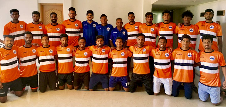 Maharaashtra state Football team for 71st Santosh trophy
