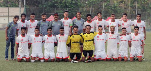 The Air India Under-19 team, emerged champions of the MDFA Super Division League 2016-17 when they defeated Mumbai Strikers 5-0 in the concluding league match at the Cooperage ground on Friday.