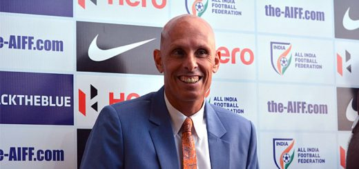 Indian Team Coach Stephen Constantine
