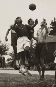Indian players training at Richmond Park Olympic Camp. Source: Official report, 1948 Olympics.