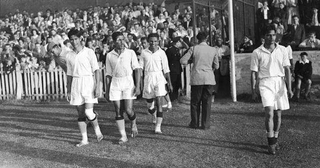 On 30th July 1948, almost one year after gaining Independence, India played its first ever International football match against France, in the 1948 London Olympics.