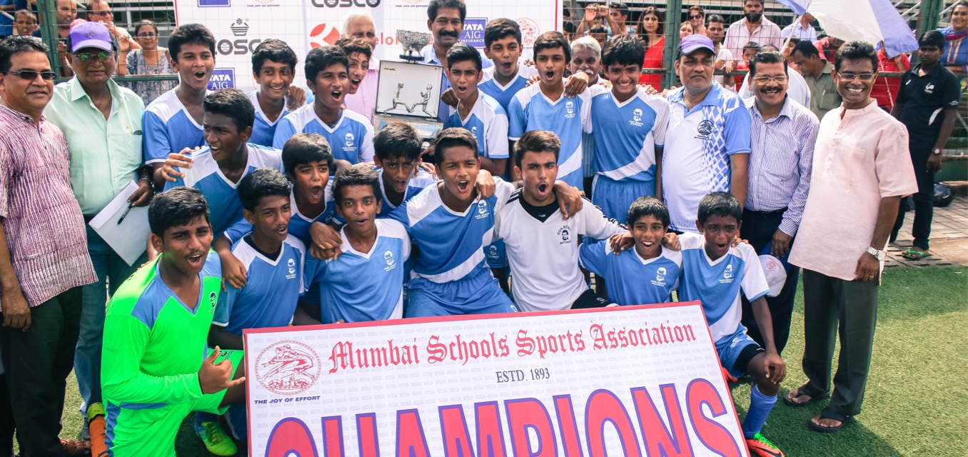 Don Bosco 'A' (Matunga) wins MSSA U16 Division 1 title