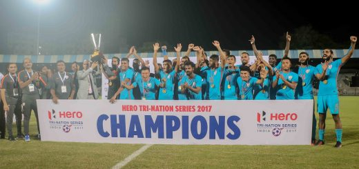 Indian emerge champion of Hero tri-nation series 2017