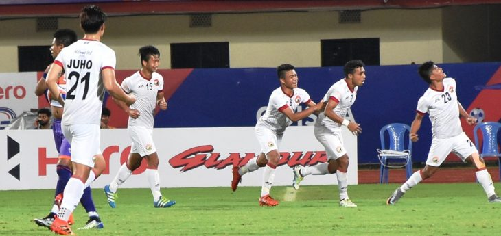 Shillong Lajong redeemed their blow hot, blow cold season with a remarkable victory over Pune City FC in a five-goal thriller in the sixth Round of 16 match of the ongoing Hero Super Cup football tournament.