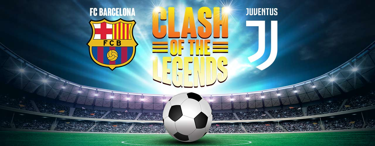Barcelona Legends Vs Juventus Legends Tickets Available On Bms Football Counter